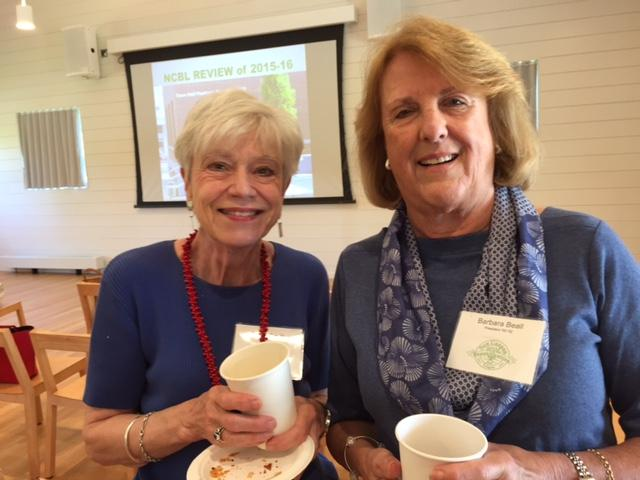 Gerda Smith and Barbara Beall