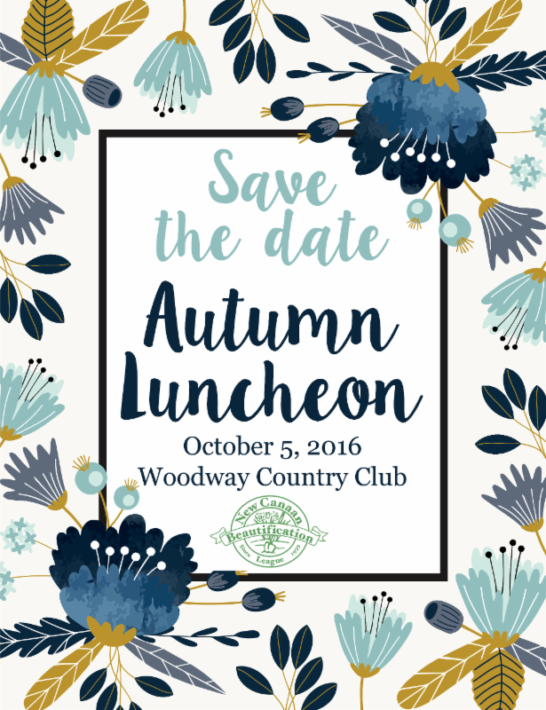Save the Date Autumn Luncheon 2016