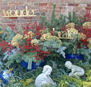 One of Andre's beautiful outside Christmas displays