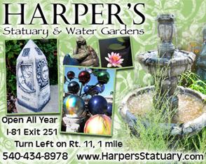 Harpers Statuary