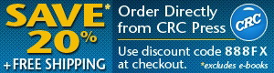 CRC Press - 20% discount and free shipping