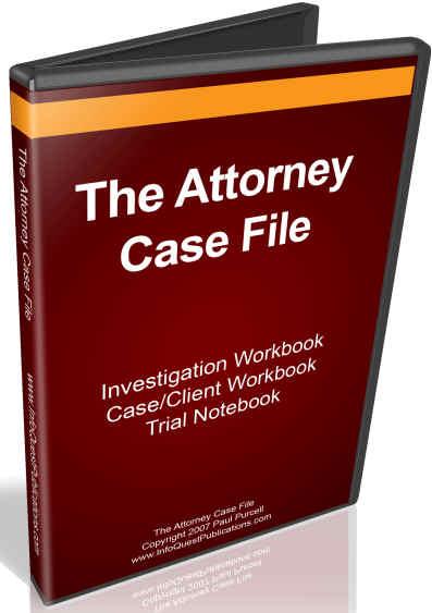 Attorney Case File