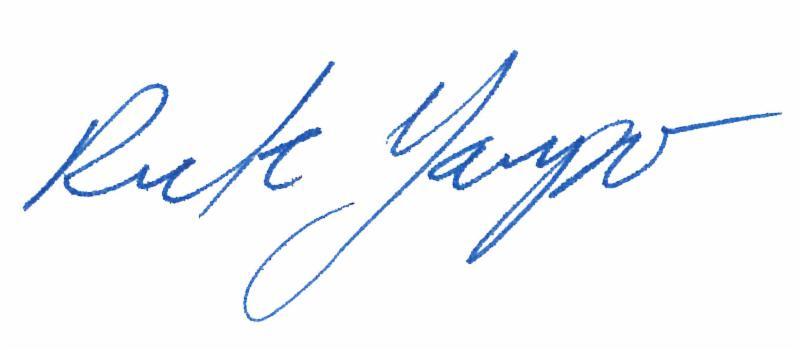 Rick Gaupo signature
