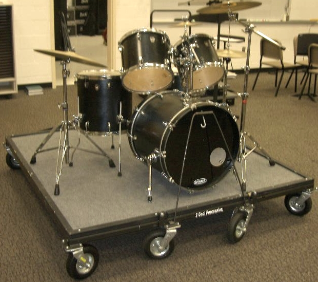 how to set up band equipment