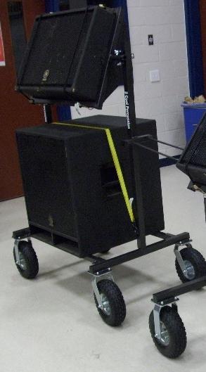 Double Muli Angle Speaker Cart