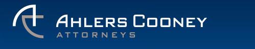 Ahlers Cooney Logo