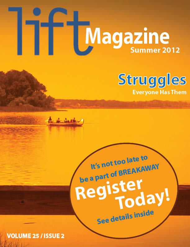 Imagine: Lift Magazine Issue 25.2 Front Page