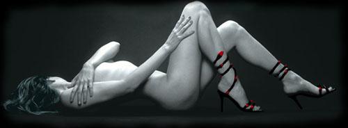 Bikini in model woman