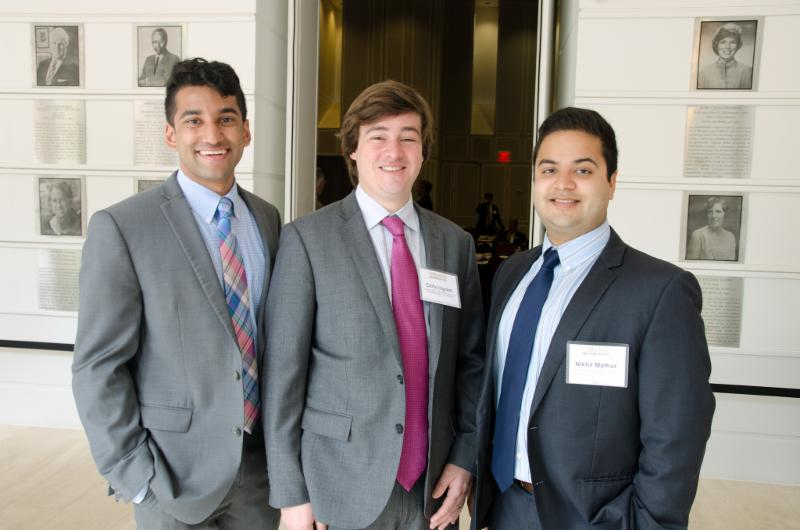 Harsha Neerchal - UCMP Smith School of Business rising senior, Chris Ingram, former MBA intern and now USMF Investment Associate