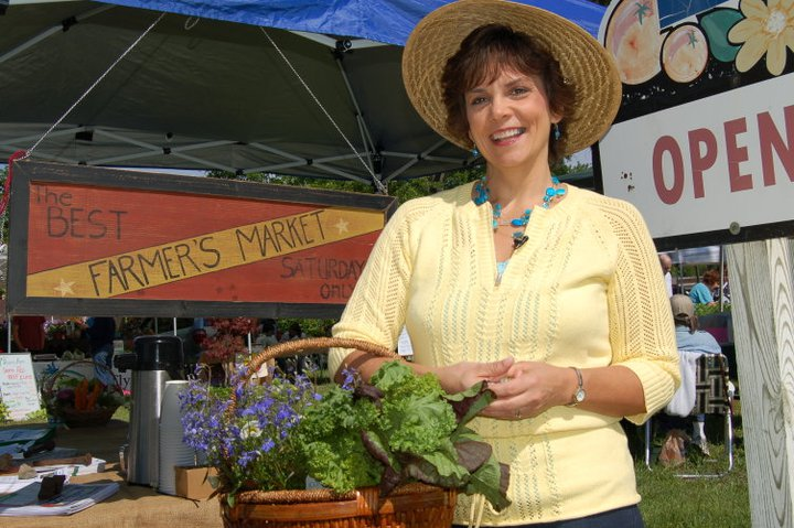 Annette Reeder at Farmers Market