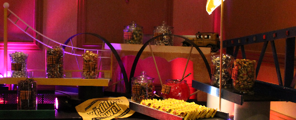 Pittsburgh Theme Candy Table