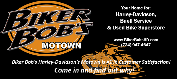 biker bob's hd motown newsletter- current events, coupons, etc