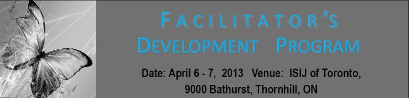 Facilitator's Development Program