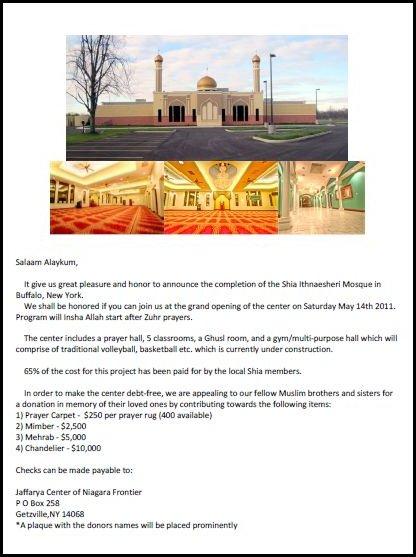 Buffalo Mosque