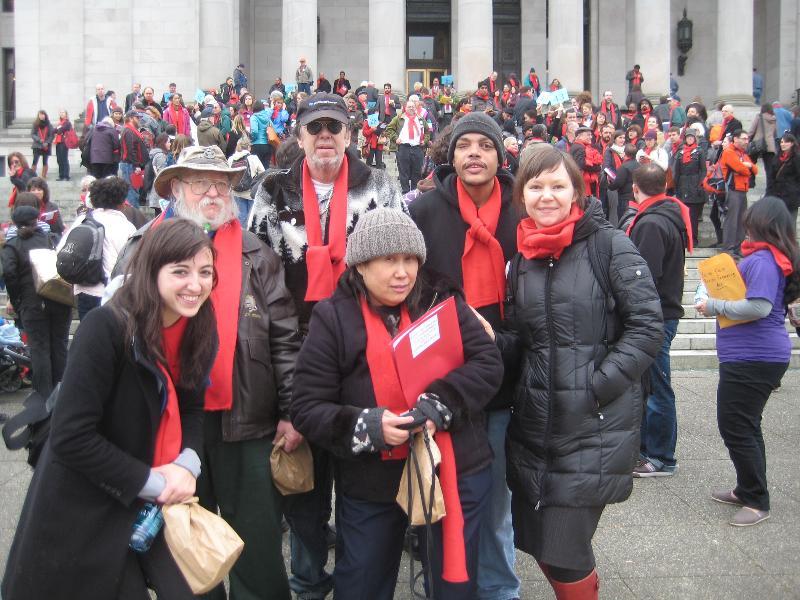 LIHI advocates in Olympia
