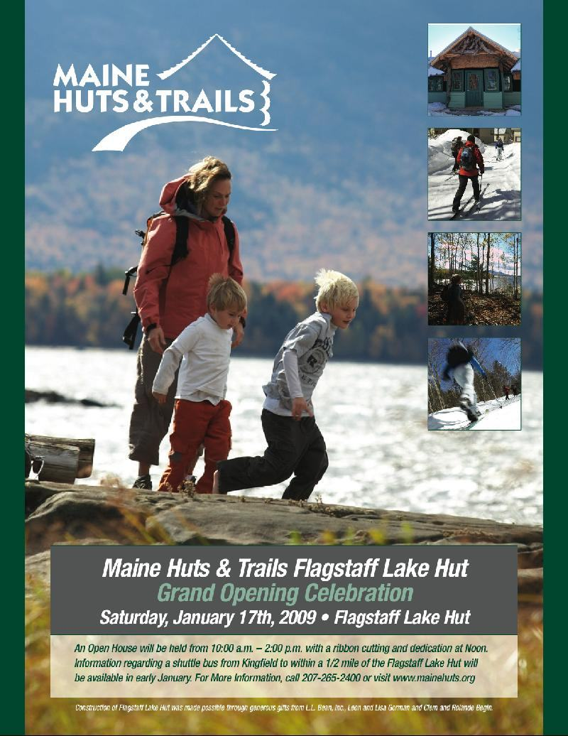 Flagstaff Lake invite