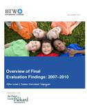 Overview of Final Eval Findings