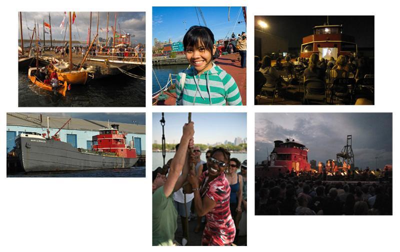 PortSide program collage