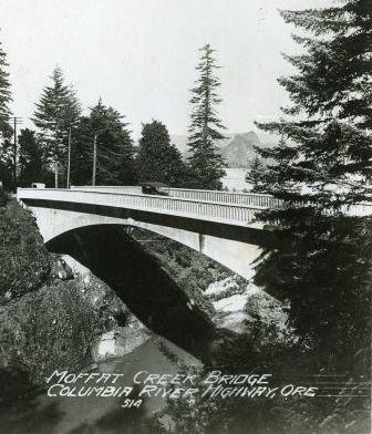 Historic Moffett Creek Bridge