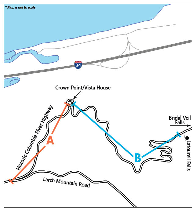 Detour Map Spring 2013