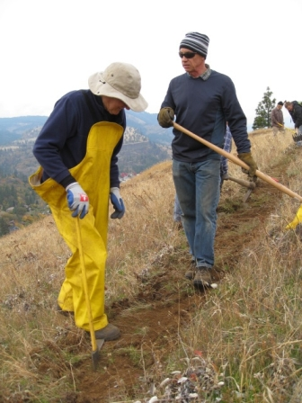 Mosier Trail building