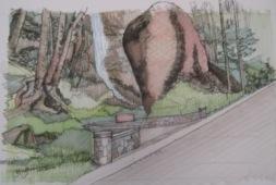 Proposed Overlook at Cabin Creek Falls