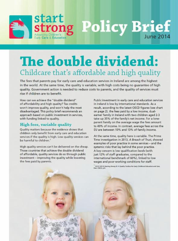 The Double Dividend Policy Brief