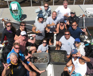 2012 Underwater Clean-Up
