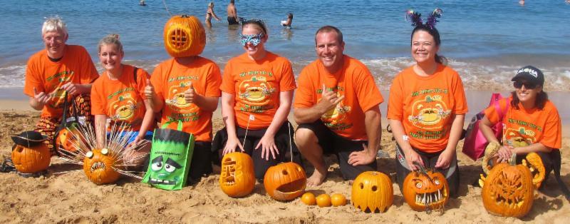 2012 Underwater Pumpkin Carving Contest Winners