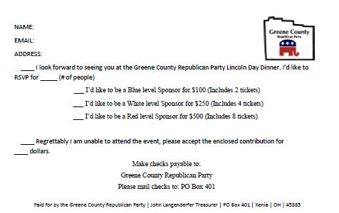 Greene county lincoln day dinner invitation reminder lincoln day 2013 pg 2 stopboris Image collections