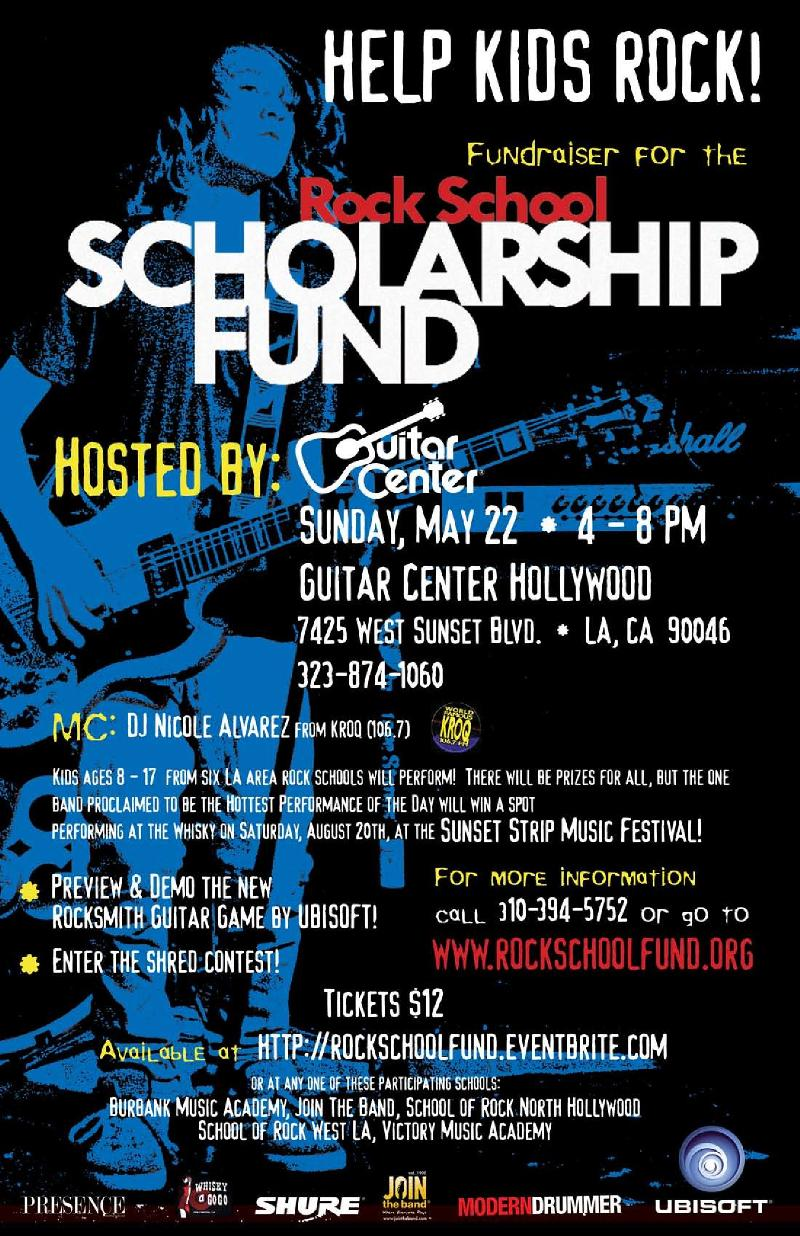 Rock Scholarship Fund Concert