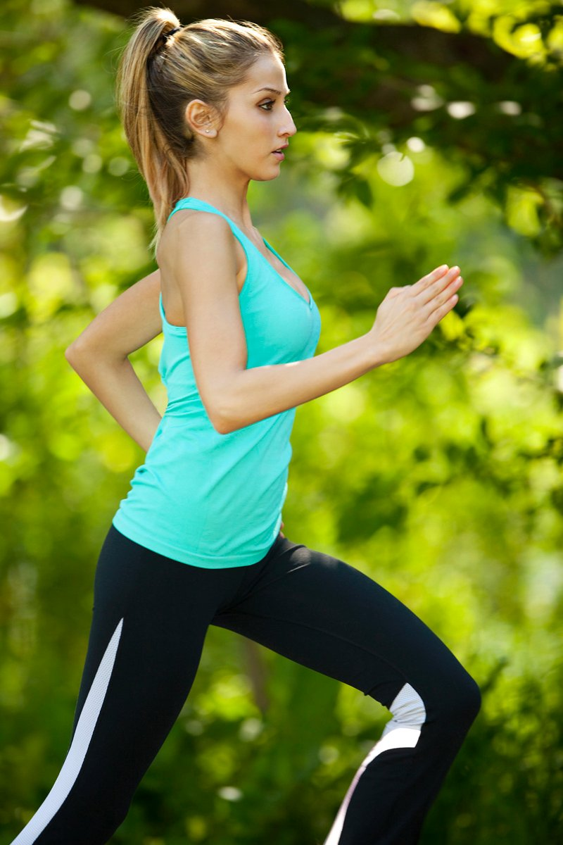 jogging lady