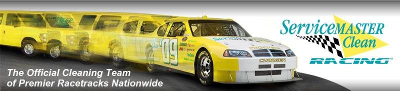 ServiceMaster Racing Banner