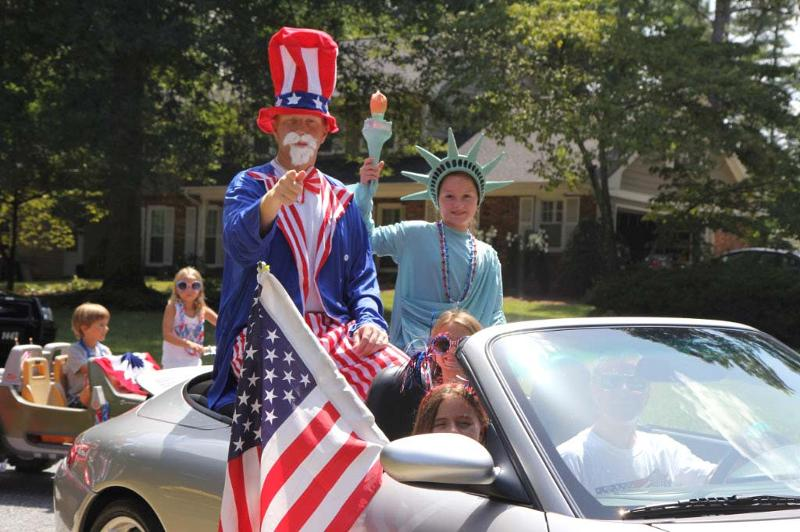 Uncle Sam and Lady Lib