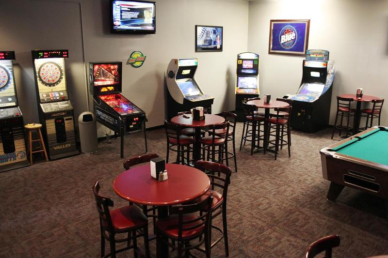 Golf Course Game Room