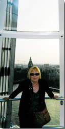 Barbara at Big Ben