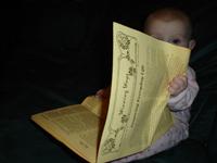 Haley reading WW