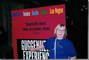 Barbara at the Guggenheim
