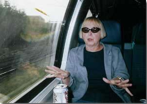 Barbara on the Train