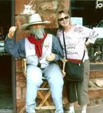Barbara and the Cowboy in Sedona