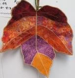 molded leaf bowl