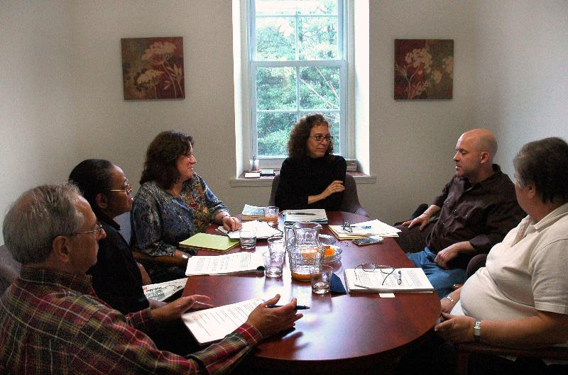 writers in workshop at The Word Studio