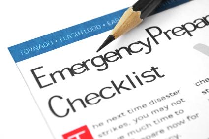 Emergency Preparedness List