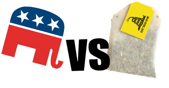 GOP vs. Tea Party
