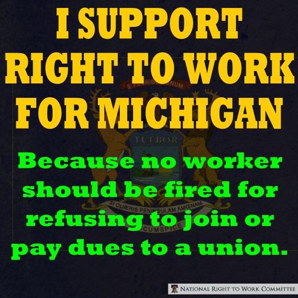 Right To Work MI