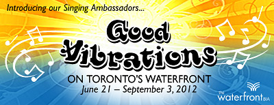 Good Vibrations on Toronto's Waterfront