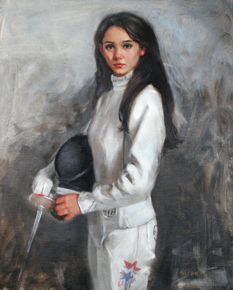 An American Fencer: Portrait of Lee Kiefer