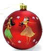 Hawaiian Hula Ornament