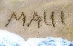Maui in the Sand