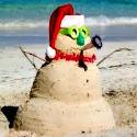 Hawaiian Sand Snowman